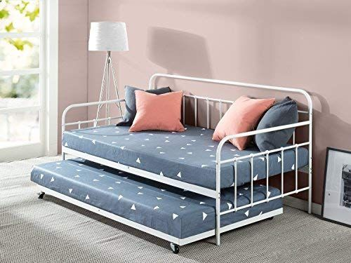 Amazon Com Zinus Florence Twin Daybed And Trundle Frame Set