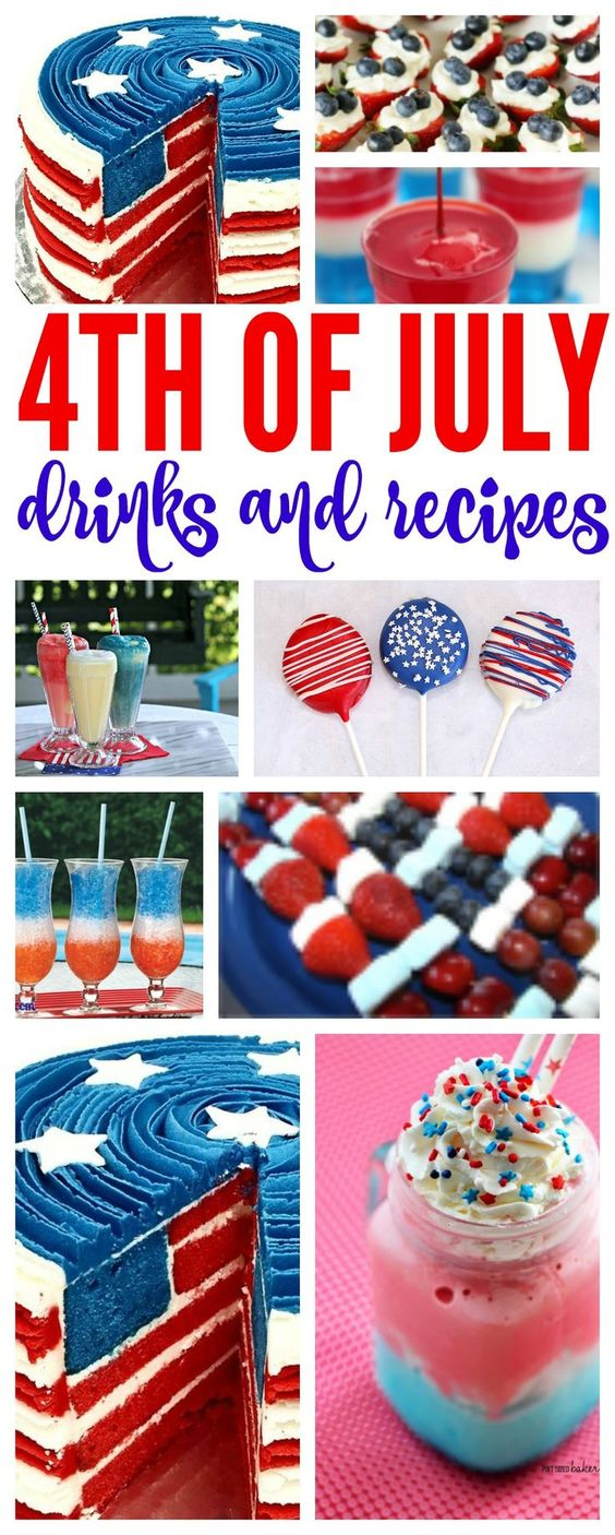 4th of july drinks food network