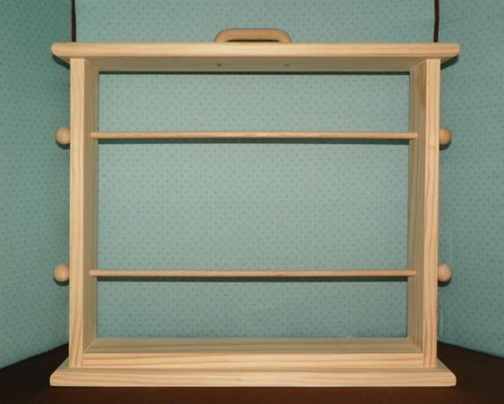 Large ribbon rack for 6 or 7  inch spools of by creativevisions207, $50.00