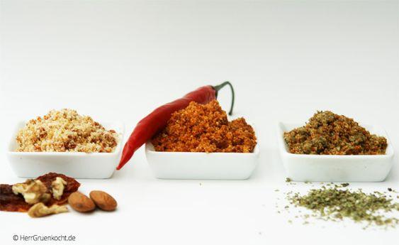 Als vegane Alternative zu Parmesankäse gbt es schon viele kreative und bewährte Rezepte. Ich wollte im Kochlabor etwas entwickeln, was genau meinem Geschmack