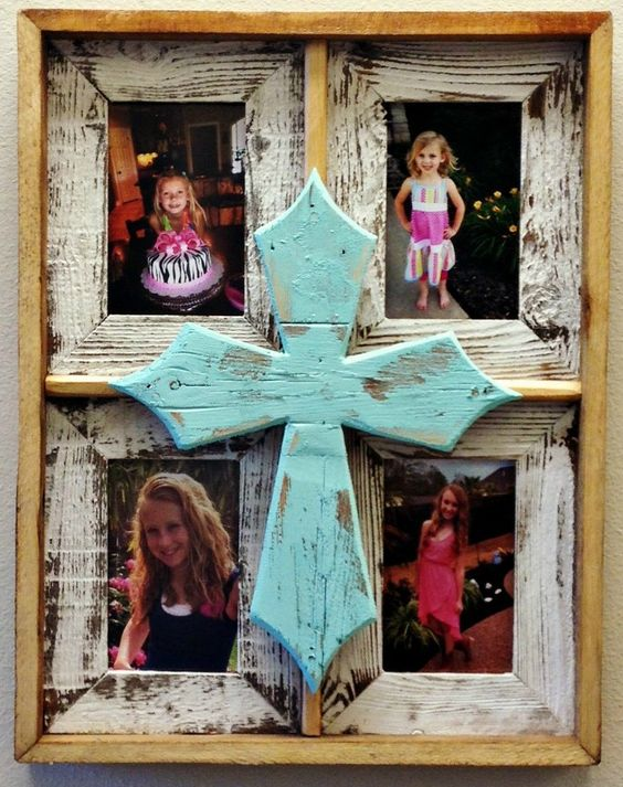 custom barnwood frames bonding ties cross frame 4900 httpwww