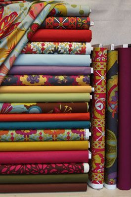 Tons of cute fabrics you can't find JoAnn's