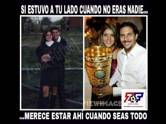 Copa América: Claudio Pizarro y su esposa recuerdan su etapa de novios