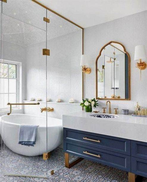 How Much Does A Bathroom Renovation Cost Upscale Bathroom Bathroom Inspiration Bathroom Design