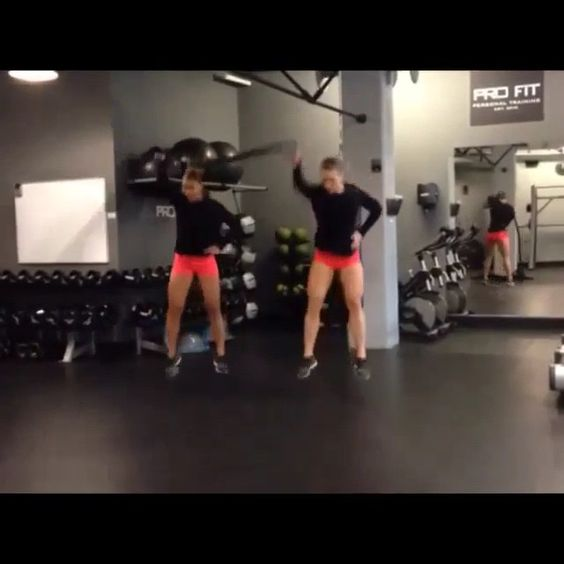 - Double Tap and TAG your workout partner!  Exercise Credit @twobadbodies