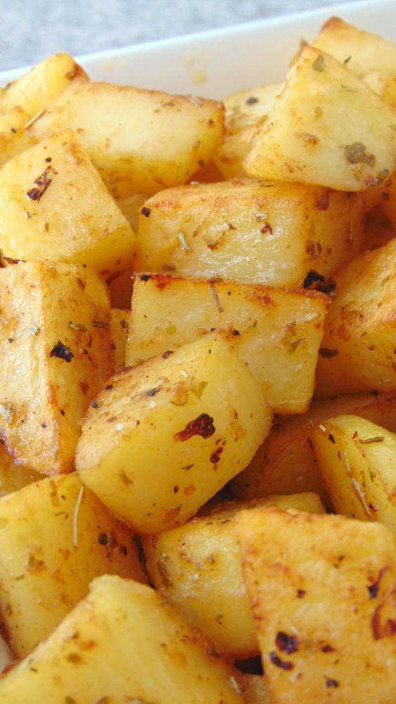 Patatas especiadas al horno - #al #especiadas #horno #Patatas