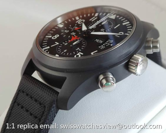 IWC Classic Pilot TOP GUN Chronograph Watch IW379901