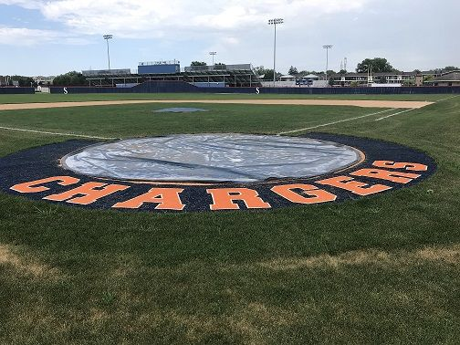 Turf Halo Around Home Plate At Stagg High School Baseball Field Baseball Cards Baseball