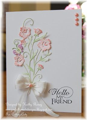 Joyfully Made Designs: CottageCutz Butterfly Spring Floral