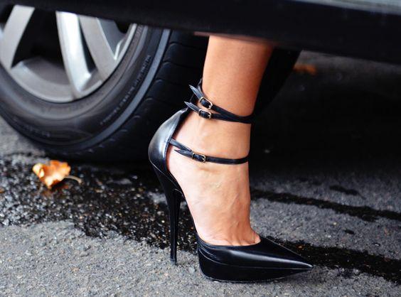 beautiful strap heel by Balenciaga