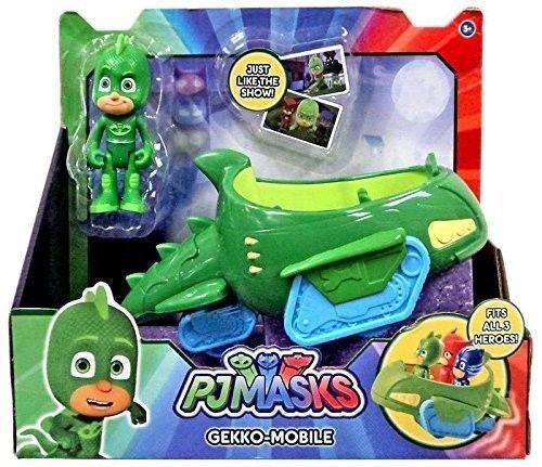 Pretend Play Toys Pj Masks Gekko Mobile Vehicle Playset Include 3