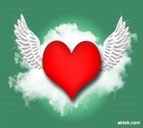 اكتب اسمك على صور قلب طائر أكتب اسمك على الصور Wall Murals Painted Diy Heart Painting Free Wall Art