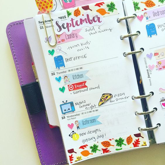 «Happy hump day! Here is how my midweek spread in my Filofax original is looking like! #midweek #humpday #wednesday #filofax #filolove #filofaxoriginal…»
