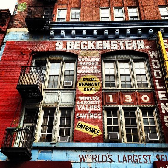 S. Beckenstein - Orchard Street - Lower East Side - New York City by Vivienne Gucwa, via Flickr