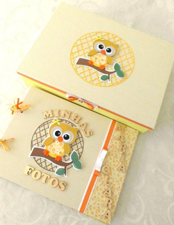 Livro e caixa - Corujinhas kecaatelie@gmail.com