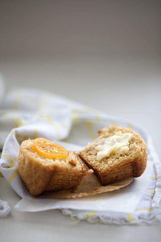 meyer lemon mascarpone muffins