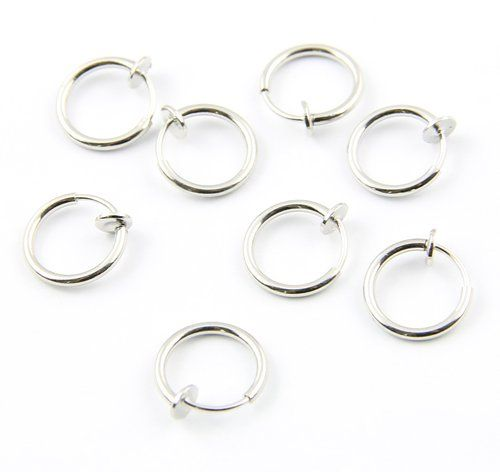 Need extra fake belly button ring clips?