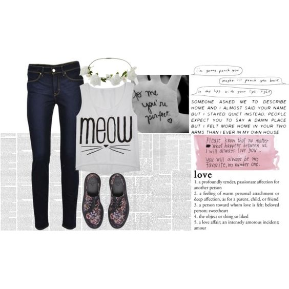 """""""meow"""" by purplicious on Polyvore"""