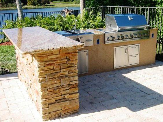10 Sturdy Outdoor Mini Bar Ideas   Rilane | BV   Deck, Patio, U0026 Landscaping  | Pinterest | Bar, Deck Patio And Porch