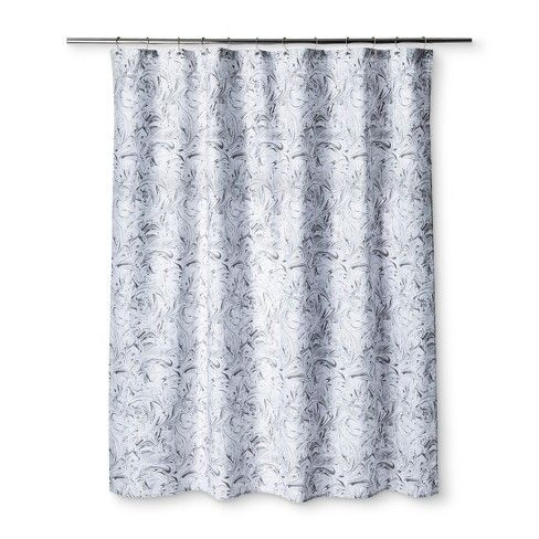 Marble Shower Curtain Pigeon Gray Room Essentials Grey Room