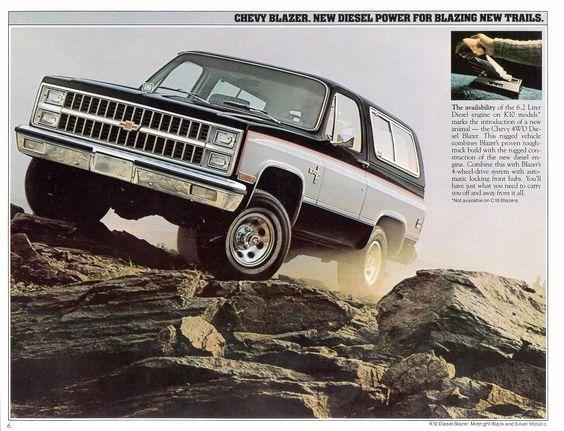 1982 Chevy Blazer