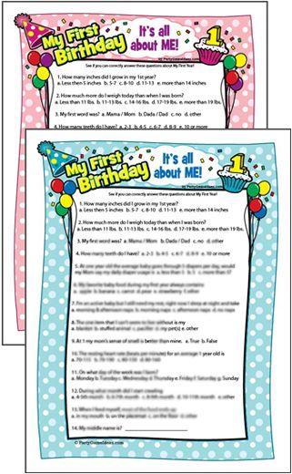 Girl birthday, Birthdays and 1st birthday parties on Pinterest ~ 220244_Birthday Party Ideas Quiz