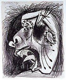 Pablo Picasso - Guernica croquis préparatoires