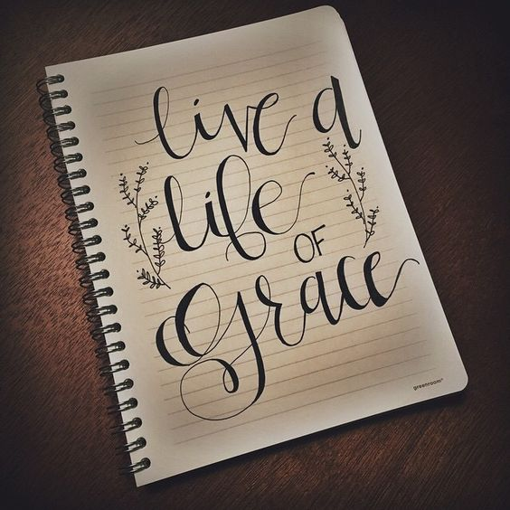 Modern calligraphy and grace o malley on