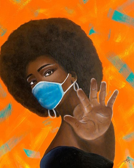 Black Women Art! — supportblackart: @iamdametria 🎨 I'm taking...