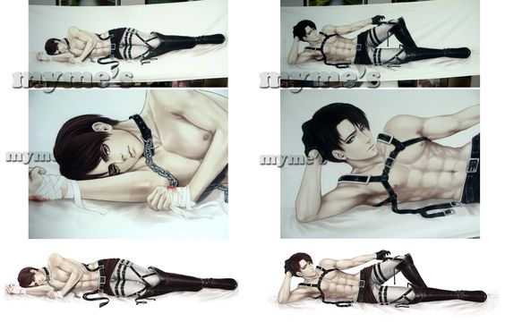 Levi-Eren Dakimakura [sold out] by Myme1 on DeviantArt