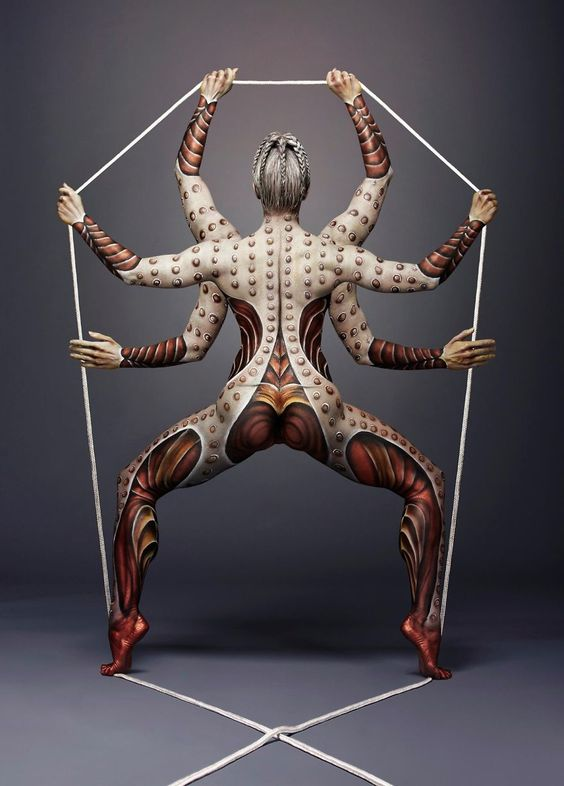 -Body painting - les corps sensuels et féminins d'Anastasia Durasova-i turn human bodies into art pieces 8  880