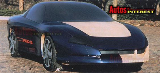 OG |1993 Chevrolet Camaro Mk4 - Project GM80 | Full-size mock-up dated May 1987
