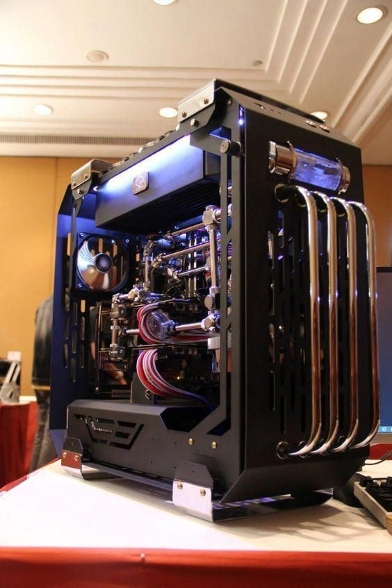 Pc Modding Liquid Cooling This Is A Work Of Art Just