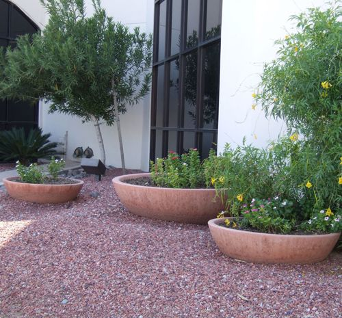 Concrete Wok Pot Planters Garden Bowls Garden Containers Garden Planters Concrete Garden