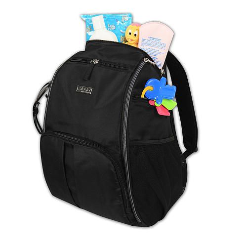 backpack diaper bags black babies and babies r us on pinterest. Black Bedroom Furniture Sets. Home Design Ideas