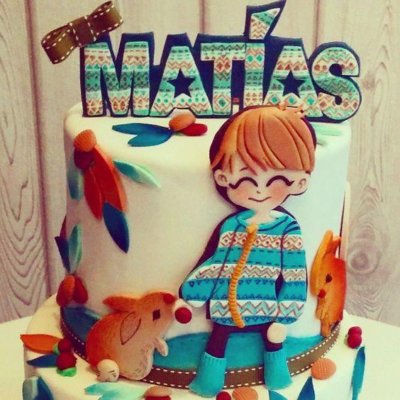 #autumn #cake #lapequeñapasteleriademama #baptism (en la pequeña pastelería de mamá)