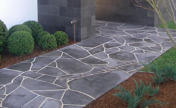Eco Outdoor Flooring Crazy Paving Bluestone Hard