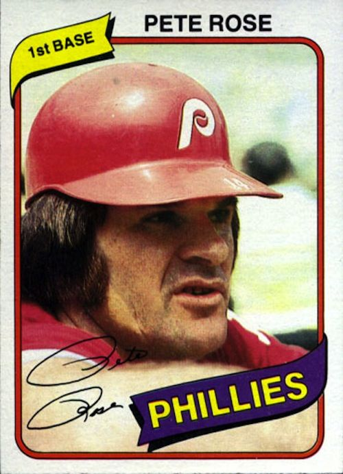 1980 Topps Baseball Cards Which Are Most Valuable Pete Rose Baseball Cards Baseball Card Values