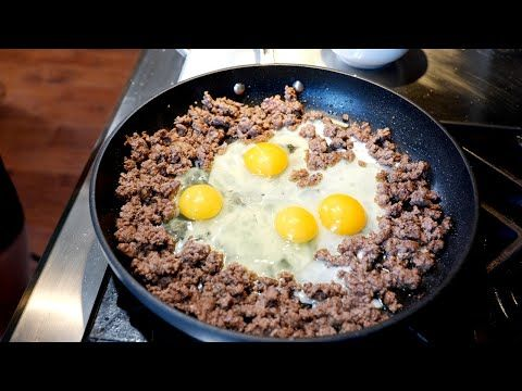 Ground Beef And Eggs Breakfast Clouds Perfect Instantpot Rice Recipe Youtube In 2020 Rice Recipes Ground Beef Recipes Ground Beef