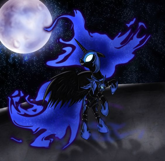 Corrupt Nightmare Moon by DashiesPet.deviantart.com on @deviantART