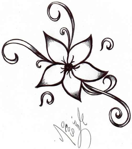 17 Simple Flower To Draw Flower Drawing Drawingpencilwiki Com Flower Drawing Design Simple Flower Drawing Flower Pattern Drawing