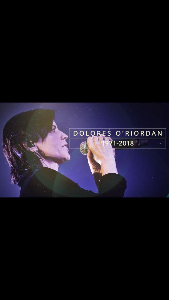 Cranberries Singer Dolores O'Riordan Dies at 46. RIP❤️