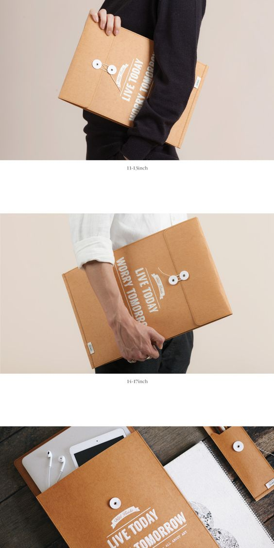 텐바이텐 10X10 : Brief case & Notebook pouch (BROWN)