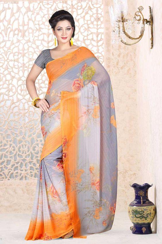Gris Georgette Saree et gris Blouse Prix:-35,36 € Designer indienne Gris saris sont maintenant en magasin présente par Andaaz Mode . Agrémentée de travaux imprimés et Grey Georgette Chemisier manches courtes . Ceci est parfait pour vêtements de mariée , vêtements de fête , décontracté , cérémonial . http://www.andaazfashion.fr/grey-georgette-saree-and-grey-blouse-dmv7880.html