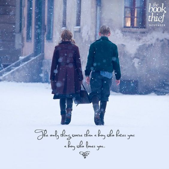 I love this pic and quote from The Book Thief! #TheBookThief: