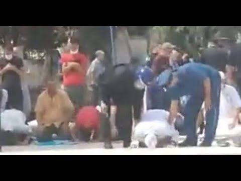 بالفيديو عتقال إمام جزائري وهو ساجد خلال صلاة الجمعة يشعل غضبا Rare
