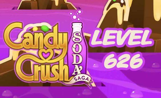Candy Crush Soda Saga Level 626