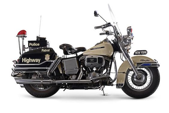 1981 Harley-Davidson 1,340cc FLHP Electra Glide Police Motorcycle Frame no. 1HD1ABK16BY051363 Engine no. ABKB051363