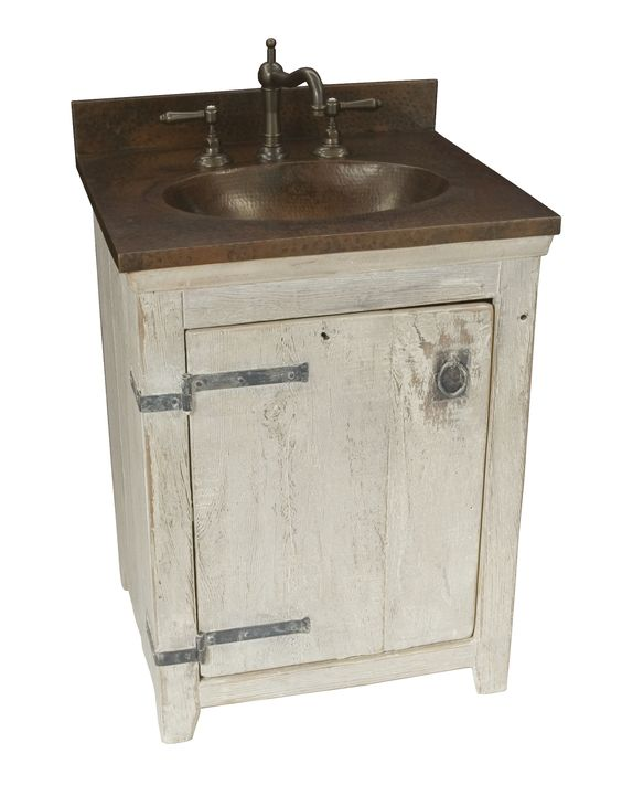 4 Summer Home Country Style Vanities | A well, Small bathroom ...