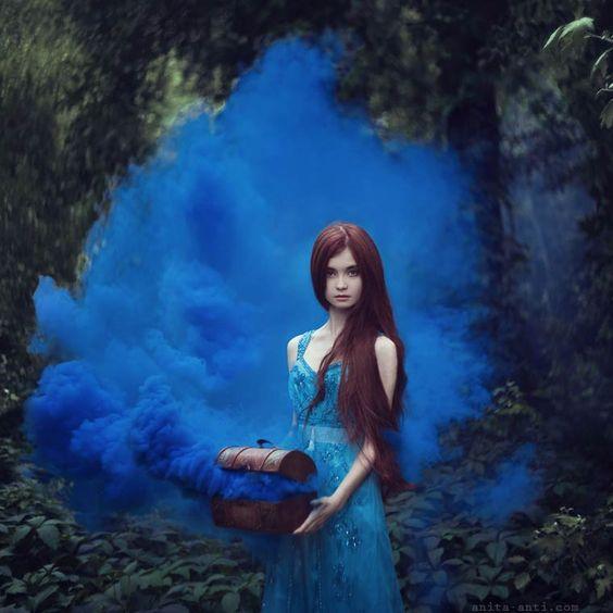 Les photographies d'Anita Anti, une jeune photographe ukrainienne basée à New York, qui s'inspire des contes de fées et des légendes du monde entier pour no
